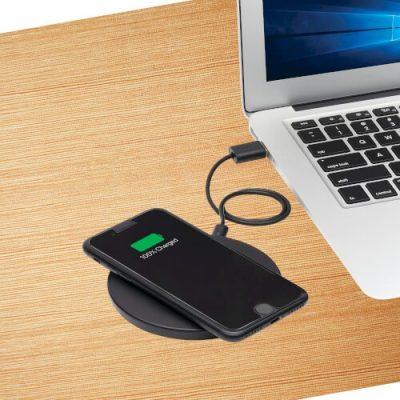 10W Wireless Fast-Charging Pad, Black