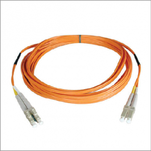 Duplex Multimode 50/125 Fiber Patch Cable (LC/LC), 20M (65 ft.)Perfect for use with Fibre Channel Controller Cards and Switches Attenuation loss meets or exceeds the latest industry standards Higher bandwidth, optimized for gigabit and 10Gbps networks Backward compatible with 62.5 micron fiber Built-in headroom for future applications Premium PVC multimode patch cables