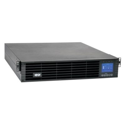 208/230V 3000VA 2.7kW Double-Conversion UPS - 10 Outlets, Extended Run, Card Slot, LCD, USB, DB9, 2U